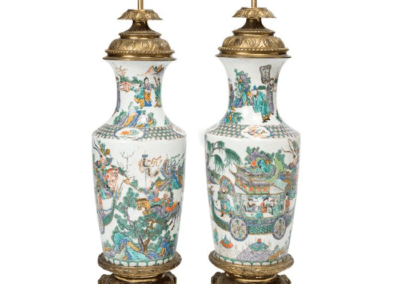 Ming Dynasty Porcelain Lamp Transport