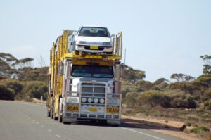 Double Road Train Car Carrier